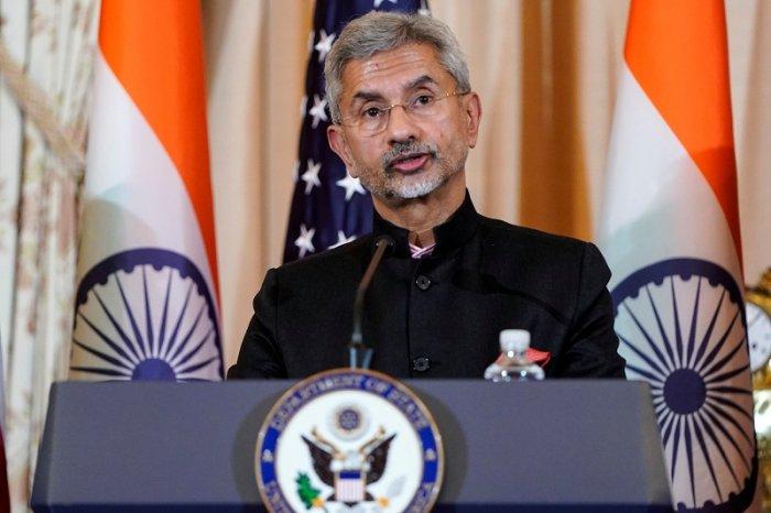 Indian Minister of External Affairs Subrahmanyam Jaishankar. (Reuters Photo)