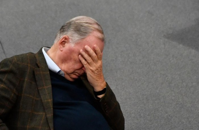 Alexander Gauland, parliamentary group co-leader of the far-right Alternative for Germany (AfD) party. (AFP photo)