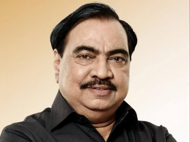 Khadse's recent meeting with NCP chief Sharad Pawar and CM Thackeray had triggered speculation over his future political journey.