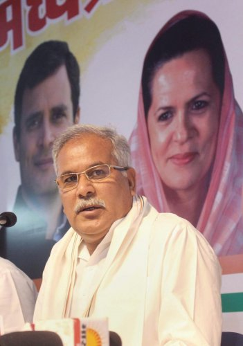 Chhattisgarh CM said that half the people in Chhattisgarh do not possess any document to prove their citizenship as their ancestors were illiterate who migrated to different villages or states. Photo/PTI