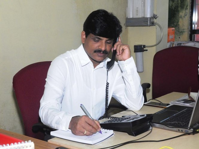 Deputy Commissioner G Jagadeesha. (DH Photo)