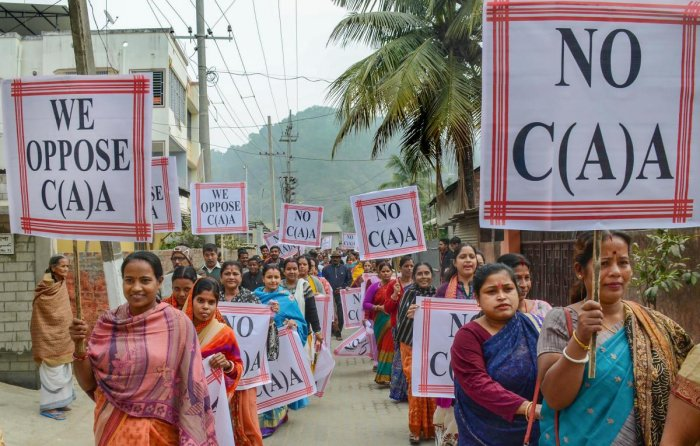 A call for a bandh was given in Rampur on Saturday by anti-CAA protesters even as CrPc Section 144, which bars assembly of people, was in force in the region. Representative Image. Photo/PTI