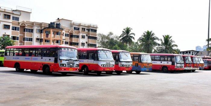 KSRTC bus. (DH Photo)