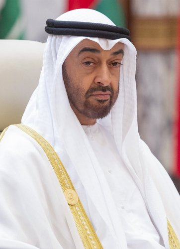 Sheikh Mohammed bin Zayed Al Nahyan, Crown Prince of Abu Dhabi and Deputy Supreme Commander of the UAE Armed Forces. (AFP Photo)