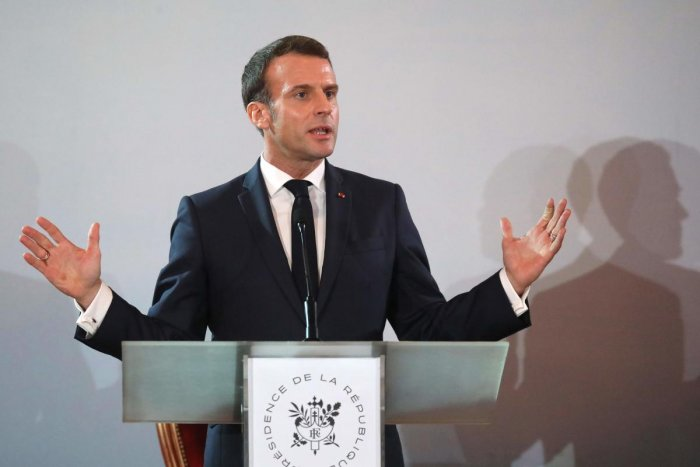 French President Emmanuel Macron. (AFP Photo)