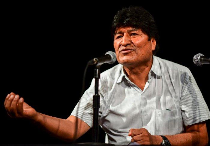 Bolivia's ex-President Evo Morales. (AFP file photo)
