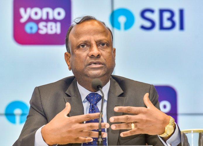 State Bank of India Chairman, Rajnish Kumar. (PTI Photo)