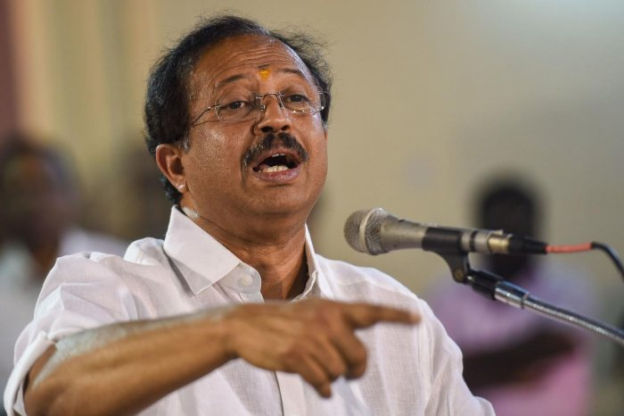 Minister of State (MoS) for External Affairs V Muraleedharan. (PTI file photo)