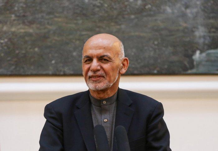 Afghanistan's president Ashraf Ghani. (Reuters Photo)