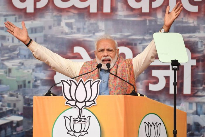 Modi fired up party supporters on December 22 as a wave of protests and clashes that has killed at least 25 and put the PM and the BJP government under pressure like never before. AFP