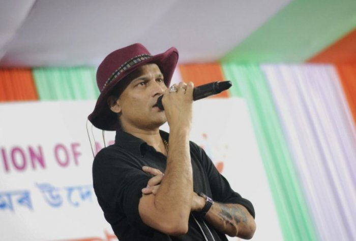 """Our agitation has been very peaceful and democratic but still four people were killed in Guwahati by the security forces. This is maddening. But we Assamese will not buckle under pressure tactics,"" said 47-year-old singer-activist Zubeen Garg. Photo/Facebook (ZUBEENsOFFICIAL)"