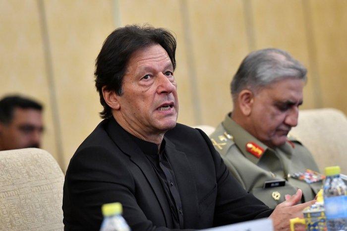 Pakistan's Prime Minister Imran Khan. (Reuters Photo)
