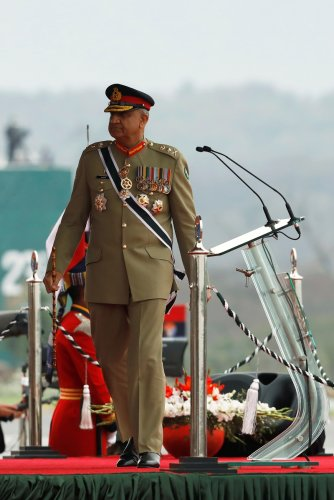Pakistan's Army Chief of Staff General Qamar Javed Bajwa. (Reuters Photo)