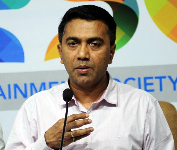 Goa Chief Minister Pramod Sawant. (PTI Photo)
