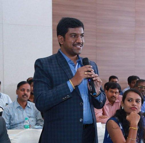 Varun Bhoopalam. (DH Photo)