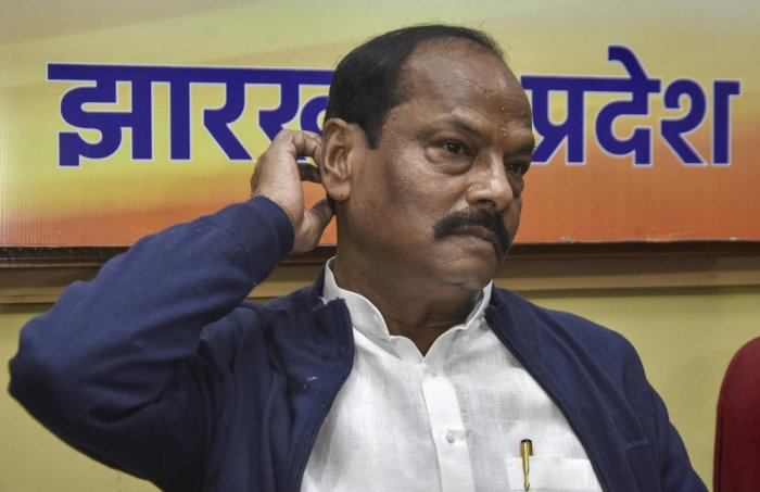 """""""The BJP will accept the people's mandate,"""" said BJP, Jharkhand CM and BJP candidate from Jamshedpur East, Raghubar Das. (PTI Photo)"""