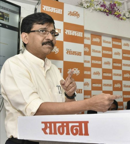 The 57-year-old firebrand Rajya Sabha member has of late been taking aim at the BJP, with which the Sena recently severed ties, through his posts on the micro-blogging site.