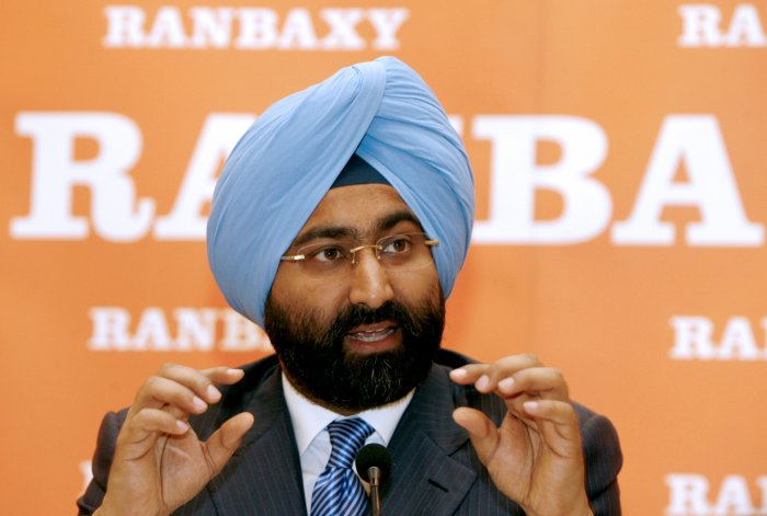 Former Chief Executive Officer and Managing Director of Indian pharmaceutical company Ranbaxy, Malvinder Singh