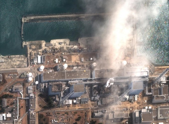 The plant suffered a meltdown about nine years ago after it was hit by an earthquake-triggered tsunami. Photo/Reuters