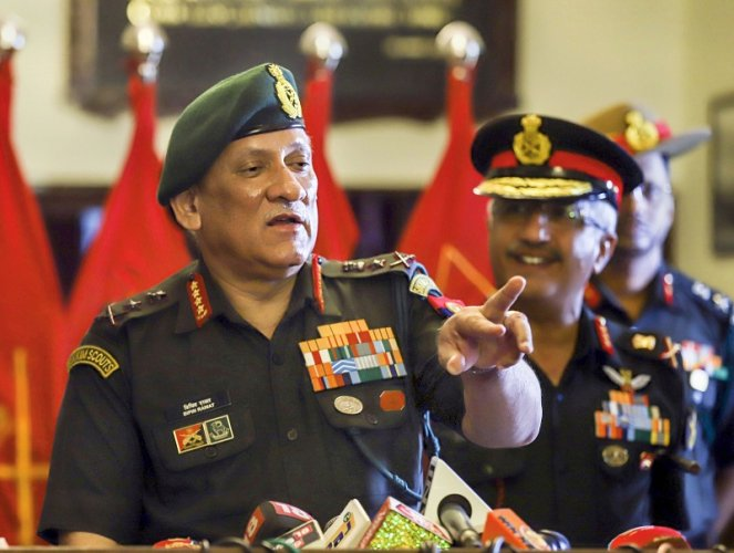 Chief of the Army Staff General Bipin Rawat. (PTI Photo)