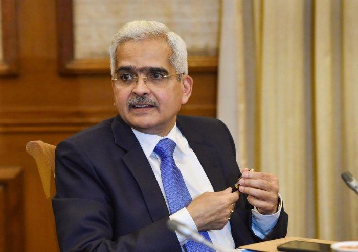 RBI Governor Shaktikanta Das. (PTI photo)