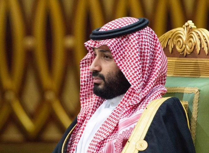 Saudi Arabia's Crown Prince Mohammed bin Salman attends the Gulf Cooperation Council's (GCC) 40th Summit in Riyadh, Saudi Arabia December 10, 2019. (Reuters Photo)