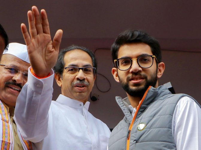 """""""These are the same ones who threaten people, call them names, are social media lynch mobs. They want to create disharmony and divisions,"""" Aaditya Thackeray said."""