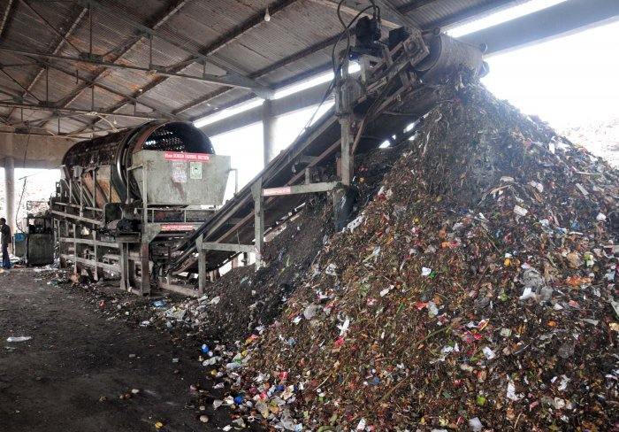Solid Waste management. (DH Photo)