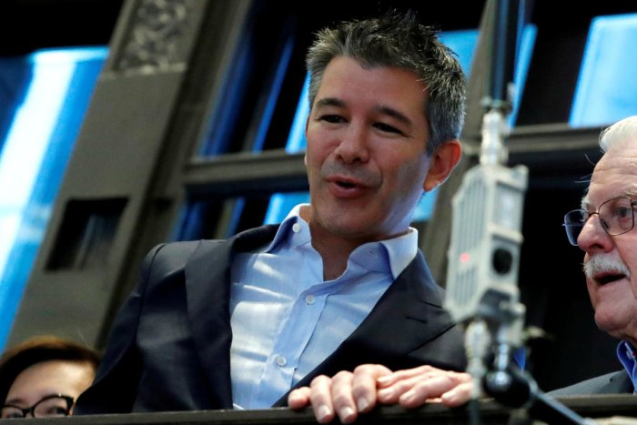 """Kalanick resigned from the board of directors effective December 31 """"to focus on his new business and philanthropic endeavors"""". Reuters"""