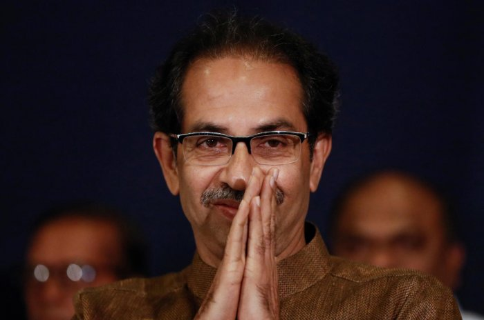 Thackeray, who is also the Shiv Sena president, extended best wishes to the new government for all-round development of Jharkhand, a tribal-dominated state where the BJP has been ousted from power. Photo/PTI