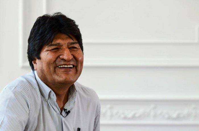 Bolivia's ex-President Evo Morales. (AFP photo)
