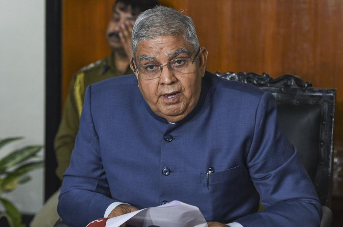 West Bengal Governor and Chancellor of the University Jagdeep Dhankhar. (PTI photo)