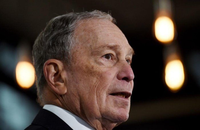 Former New York Mayor and Democratic presidential candidate Michael Bloomberg. (AFP file photo)
