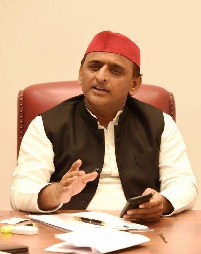 Samajwadi Party chief Akhilesh Yadav. (PTI Photo)