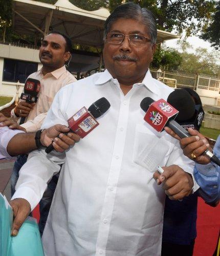 BJP Maharashtra President Chandrakant Patil. (PTI Photo)
