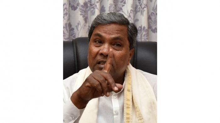 Siddaramaiah took a dig at Yediyurappa, saying that his remarks on Wednesday was in conflict with the CID probe ordered on the shooting incident and accused him of ordering the police to shoot at the protestors.