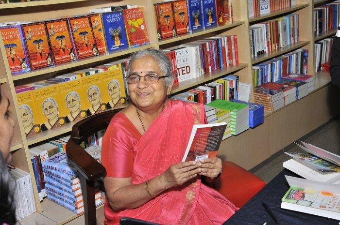 Sudha Murty. (DH Photo)