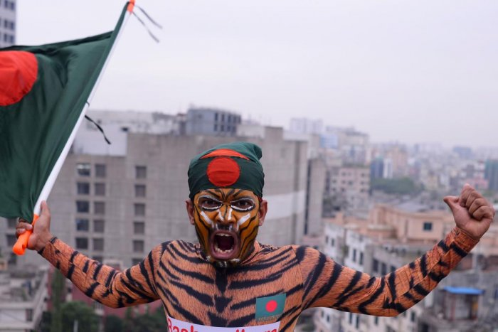Bangladesh are expected to play three Twenty20 Internationals in Lahore before a two-test series against Pakistan who completed a 1-0 series victory against Sri Lanka on Monday. Photo/AFP