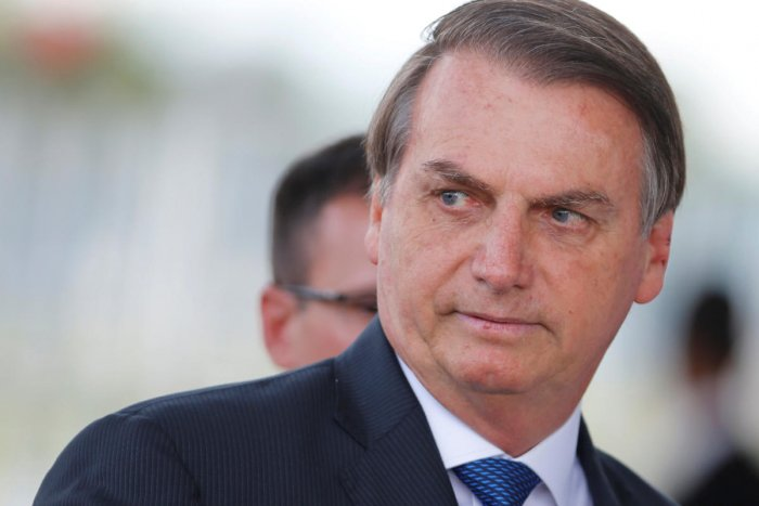 The 64-year-old slipped Monday night in a bathroom at the Alvorada Palace, the latest health scare for the Brazilian leader who was wounded in a knife attack in September 2018 while campaigning for the presidency. Photo/Reuters