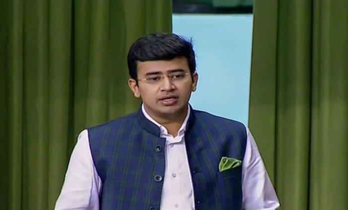 Tejasvi Surya. (File Photo)