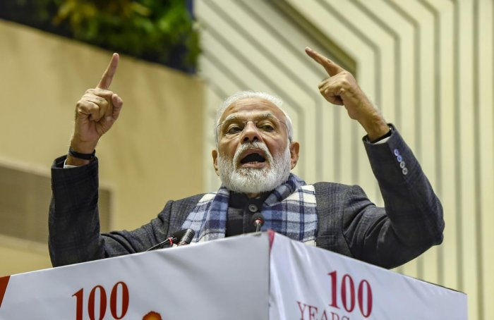 ''Ram Janambhoomi was another such issue....it was also settled in a peaceful manner,'' Modi said.