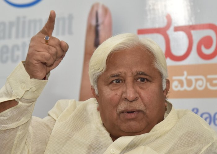 """Maharashtra-Karnataka boundary dispute is a closed chapter, but Uddhav irresponsibly raised this issue again due to political reasons,"" said former minister H K Patil."