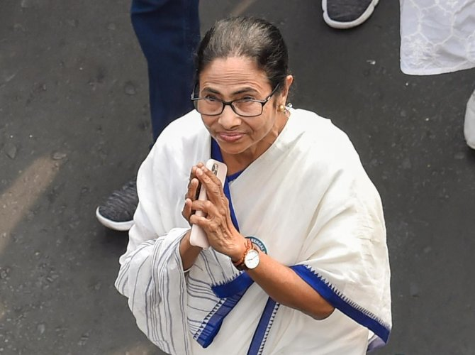 """The Trinamool Congress supremo, who had shared a cordial relationship with the veteran leader, further said that Vajpayee was missed by everybody """"a lot"""". Photo/PTI"""