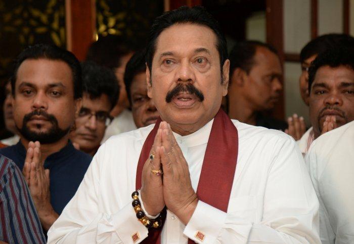 Mahinda Rajapaksa. (Reuters Photo)