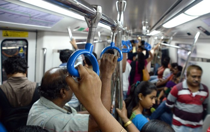 Namma Metro. (DH Photo)