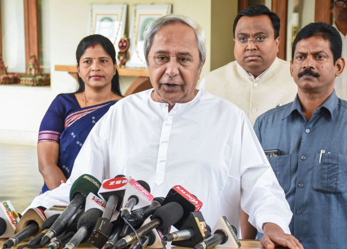 Odisha Chief Minister Naveen Patnaik. (PTI Photo)