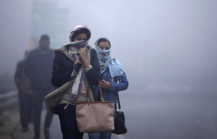 Chandigarh, the common capital of the two states, recorded a low of 6.5 degrees Celsius. (PTI Photo)