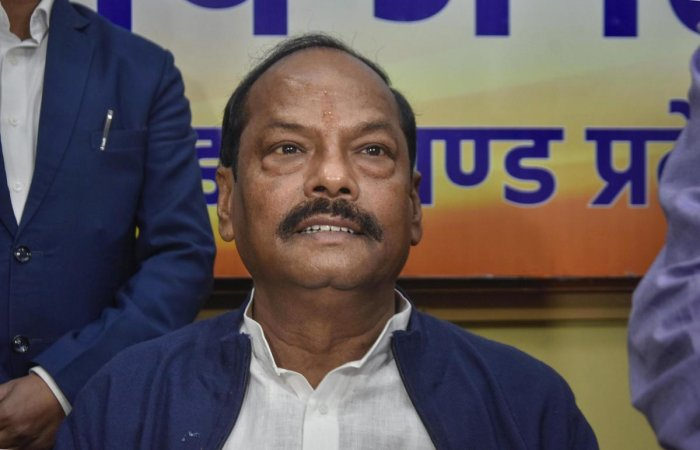 Caretaker Jharkhand Chief Minister Raghubar Das. Photo/PTI