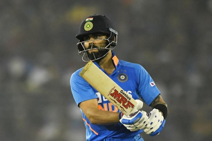 The 31-year-old Indian was named captain of the Wisden Test team of the decade, while also featuring in the ODI XI (AFP Photo)