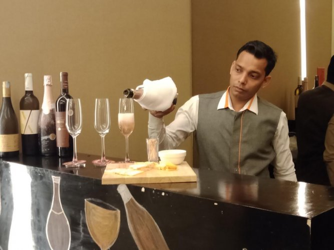 The event brought together bloggers, IT professionals and wine enthusiasts.